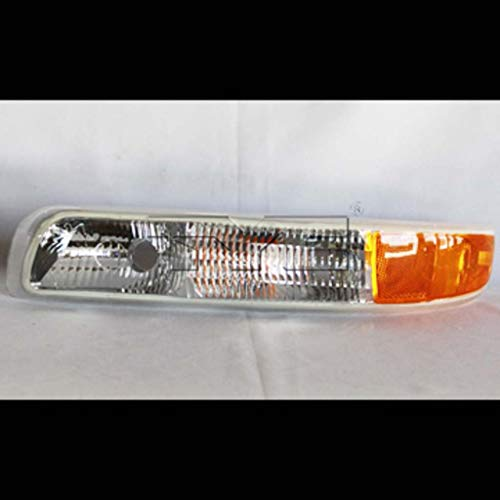 CarLights360: Fits 2000-2006 Chevrolet Tahoe Parking/Side Marker Light Driver Side (Left) CAPA Certified - Replacement for GM2520173