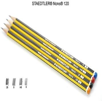 STAEDTLER Noris ® B Pencils 120 Norris School Drawing Sketching 24 Pencil 2 Box