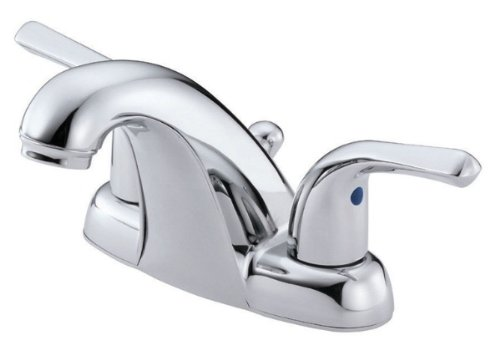 Danze D301012BN Melrose Two Handle Centerset Lavatory Faucet, Brushed Nickel