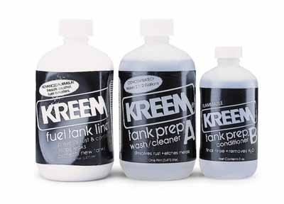 Kreem Products Fuel Tank Liner Combo-Pak 1210