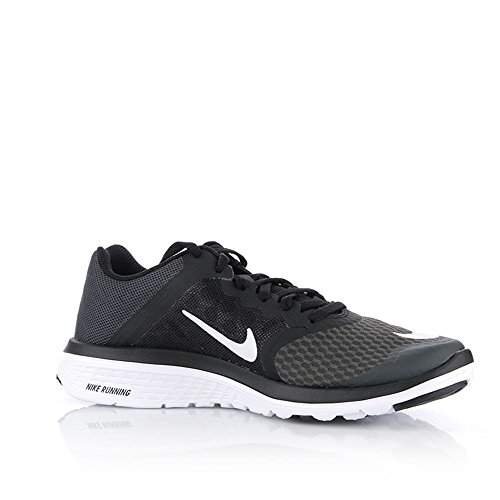 Nike - Wmns FS Lite Run 3 - 807145001 - Color: Black-White - Size: 5.5 hYau2c5V