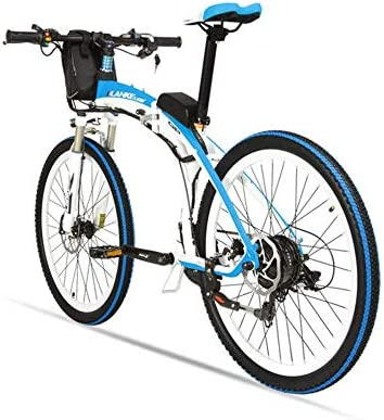 MERRYHE Bicicleta eléctrica Plegable para Adultos Bicicleta de ...