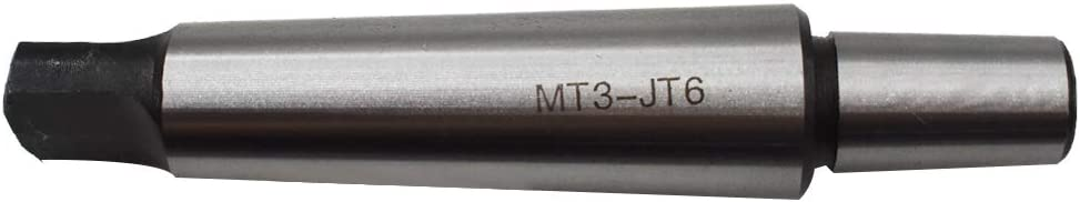 New 3MT To 6JT Tanged End Drill Chuck Arbor MT3 JT6 Tang Jacobs Morse Taper