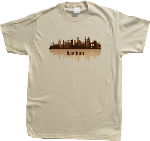 London, England City Skyline Unisex T-shirt Londoner British UK Pride Tee