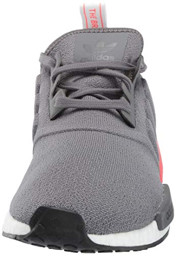 adidas Originals Men's NMD_R1 Running Shoe, Grey/Shock red, 4 M US by adidas Originals (Image #4)
