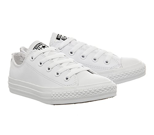 Converse Unisex Kids' Chuck Taylor Ct Ox Low-Top Sneakers White (White/White/White 113) nicekicks online hot sale discount perfect jyvPn3nG