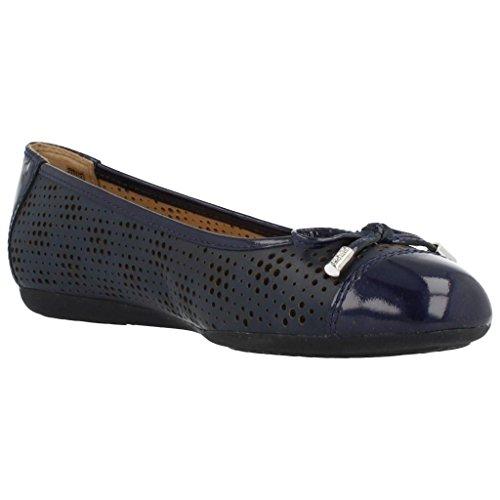 D B Donne Modello Le Blu Scarpe Ballerina Blu Donne Scarpe Geox Marca Ballerina per Blu Colore Le Lola per 6Ita8xHq