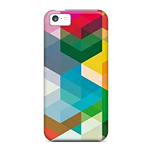 Quality Anglams Case Cover With Block Block Nice Appearance Compatible With Iphone 5c