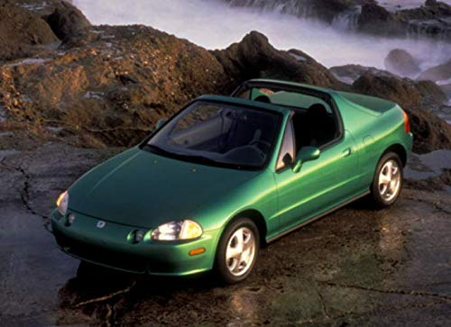 Honda Civic Del Sol Si: 120 pages with 20 lines you can use as a journal or a notebook .8.25 by 6 inches. 1993 Honda Civic Del Sol