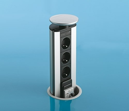 Prise evoline cheap chargeur induction schulte evoline for Meuble chargeur induction
