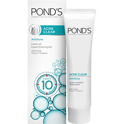 Ponds Acne Clear Antiacne Leave On Expert Clearing Gel 20