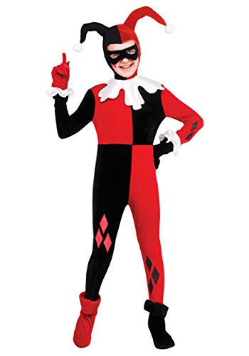 Rubie's Fun Costumes Child Harley Quinn Jumpsuit Costume