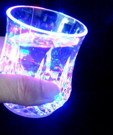 Tentop LED flash pineapple cup color flash cup fashion bar ktv party entertainment Cup 3 family and friends - Light Optix Three