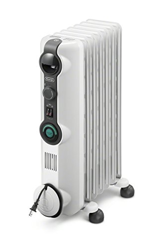 Delonghi KH390715CM Comfort Temp Full Room Radiant Heater, Light Gray by DeLonghi