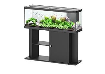 meuble pour aquarium style led 120 aquatlantis noir