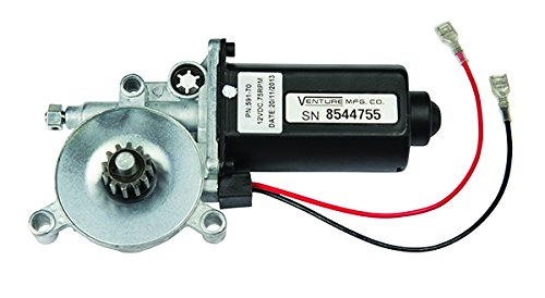 Lippert Components Black Lippert 266149 Solera Power Awning Replacement Motor