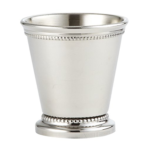 Elegance-Silver-Nickel-Plated-Beaded-Mint-Julep-Cup