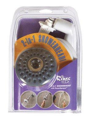 RA 2-IN-1 SHOWERHEAD CH by RINSE ACE MfrPartNo 4045