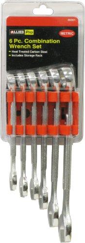 20301 6 Pc. Metric Raised Panel Combination Wrench Set ()