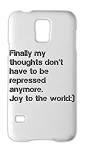 Finally my thoughts don't have to be repressed anymore. Joy Samsung Galaxy S5 Plastic Case