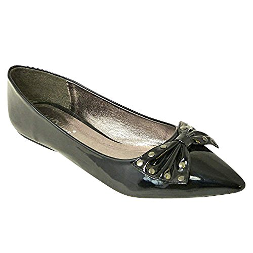 Patent Donna 2 Sko's Ballerine black jyx 6ZFBnPqx