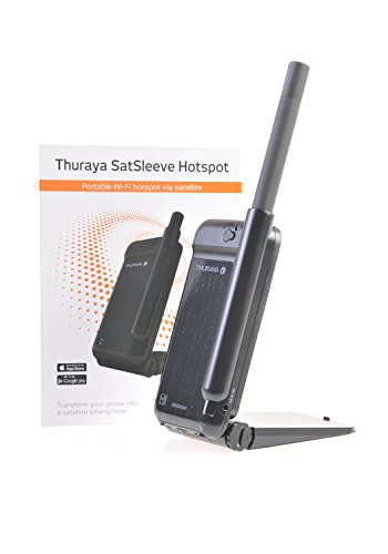 Thuraya Satellite Satsleeve WiFi Hotspot for smartphone iPhone & Android