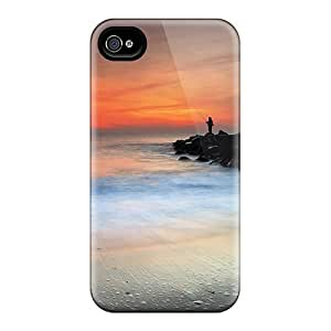 Hot Snap-on Seaside Fishing Hard Cover Case/ Protective Case For Iphone 4/4s by supermalls