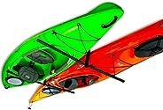 StoreYourBoard 2 Kayak Ceiling Rack | Hi-Port 2 Storage Hanger Overhead Mount