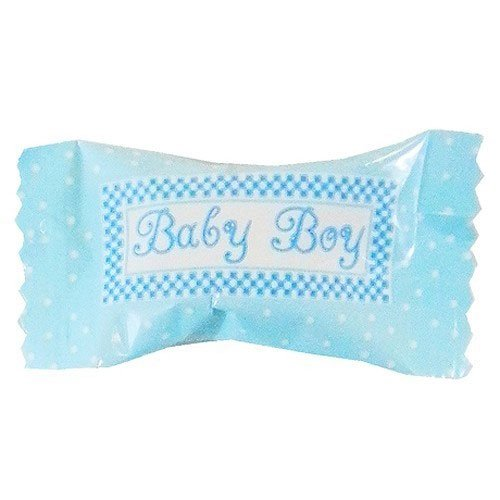 """Baby Shower Party Supplies - """"It's a Boy"""" 2 Pack Buttermint Creams, 2.5-oz. Bags 20 x 2"""