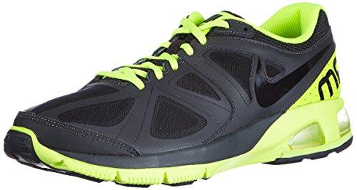 Nike Men's Air Max Run Lite 4 Drk Charcoal/Blk/Vlt/Chllng Rd Running Shoes 9.5 Men US