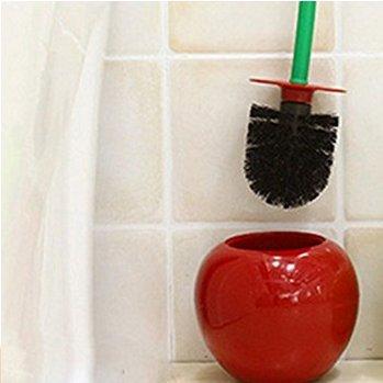 Caomoa Caomoa 1 * vino rojo cereza inodoro cepillo manzana aseo cepillo diario necesidades cerdas