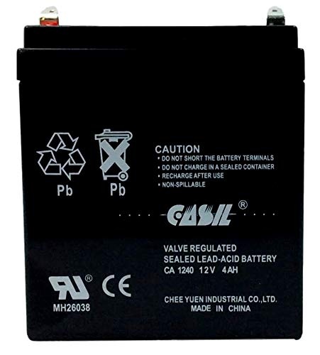 Amazon.com: Casil 12v 4ah UPS Power Patrol for SLA1056: Home ...