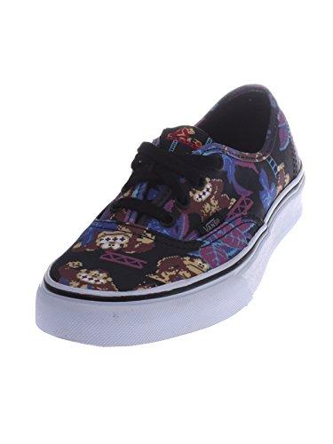 Vans Authentique Nintendo Âne Kong / Noir Femmes Chaussures De Skate Taille 6
