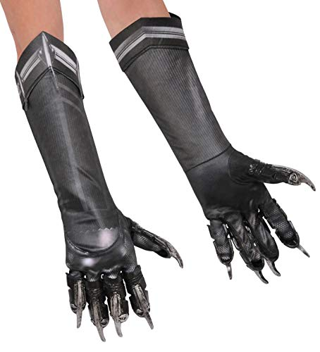 Cool Things For Halloween (Rubie's Costume Co Men's Captain America: Civil War Deluxe Panther Gloves, Black, One)