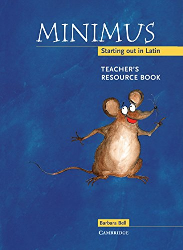 Price comparison product image Minimus Teacher's Resource Book: Starting out in Latin
