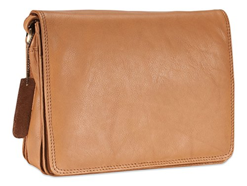 pour souple Visconti Sable 02751 femme KARA sac véritable Atlantic bandoulière à cuir en Petit 44zXqwA