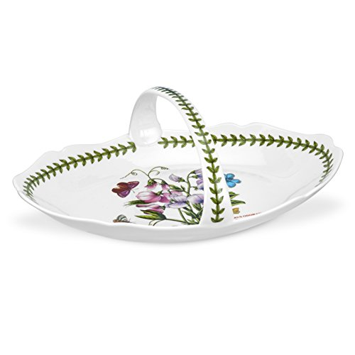 Portmeirion Botanic Garden Low Oval Bread Basket (Portmeirion Garden Botanic Sweet)