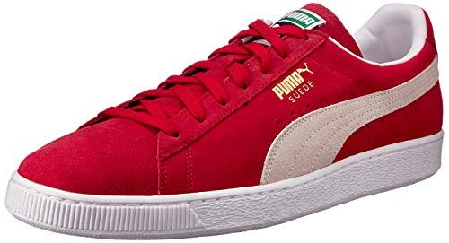 PUMA Zapatilla 352634-05 Suede Classic Rojo 36 Red (Puma Leder)