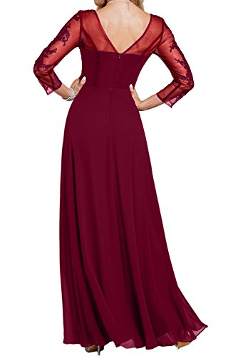 mujer Estuche Vestido Topkleider para borgoña wFtwzxCq