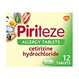 Piriteze Antihistamine Allergy Relief Tablets,...
