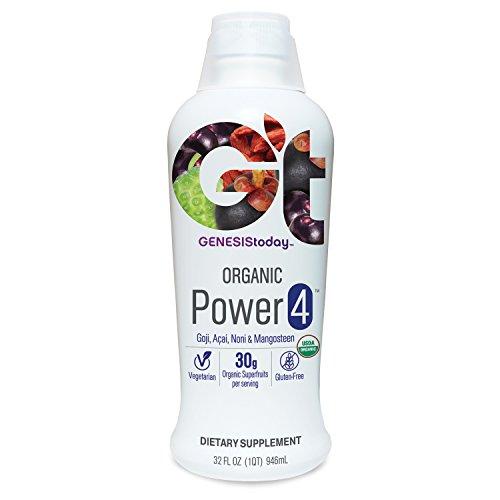 Genesis Today, Organic Power 4, 32 Ounce