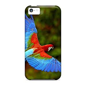 XiFu*MeiSpecial Mycase88 Skin Cases Covers For ipod touch 4, Popular Macaw Phone CasesXiFu*Mei