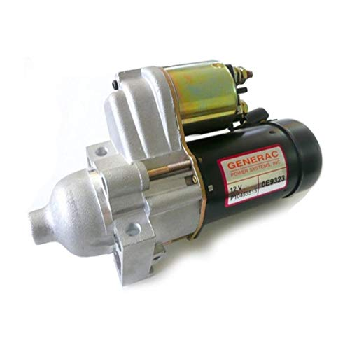 V Genuine Guardian Generator Starter Motor - Reduced 1-Kilowatt, Solenoid - Power System Replacement Part ()