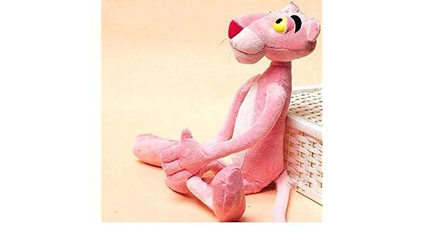 N/B Ypzz Leopardo De Dibujos Animados De Moda Pantera Rosa Peluche ...