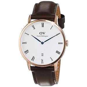 Daniel Wellington Reloj Analógico para Hombre de Cuarzo con Correa en Cuero DW00100086 6
