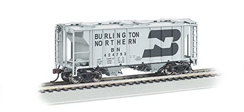 PS-2 Burlington Northern Two-Bay Covered Hopper Vehicle (HO Scale) ()