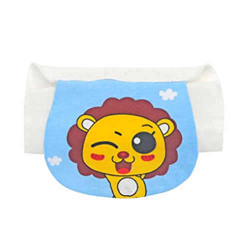 2 PCS Lion Cartoon Multi-color Babies Sweat Absorbent Towel, 26x19cm