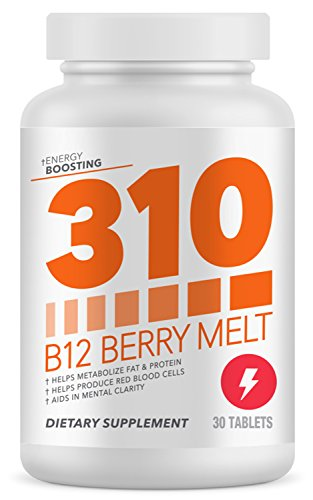 310 B12 Sublingual Vitamin | Fast Dissolving Tablets for Quicker Absorption and Rapid Delivery | Helps Produce Red Blood Cells | Helps with Mental Clarity and Acuity For Sale
