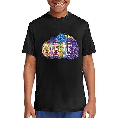 Children's Evolution of J Cole Cute T-Shirts for Girls/Boys T-Shirts Black
