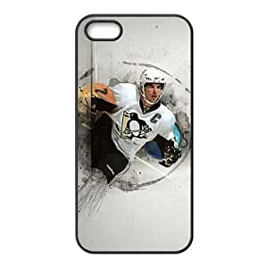 Lucky Hockey NHL Sidney Crosby Pittsburgh Penguins For Iphone 5/5S Phone Case Cover